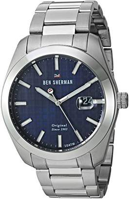 Ben Sherman Men's 'The Ronnie Professional' Quartz Stainless Steel Casual Watch
