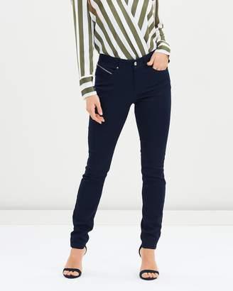 Wallis Diagonal Zip Trousers