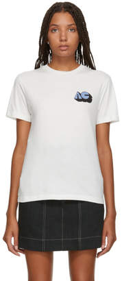 ALEXACHUNG SSENSE Exclusive Ivory Alexa T-Shirt