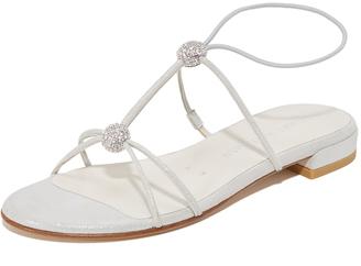 Stuart Weitzman Tweety Sandals $398 thestylecure.com