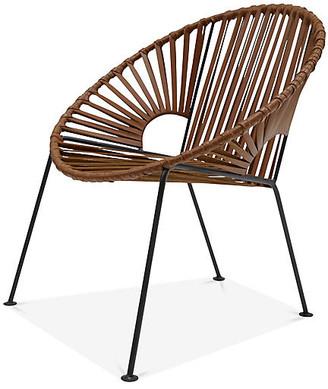 Mexa Ixtapa Lounge Chair - Tobacco Leather