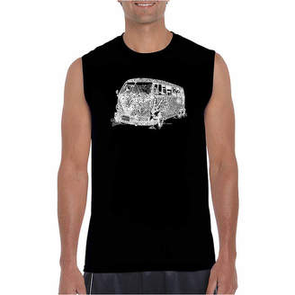 LOS ANGELES POP ART Los Angeles Pop Art Men's the 70's Sleeveless T-Shirt - Big and Tall