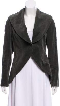 Pauw Textured Shawl-Lapel Jacket