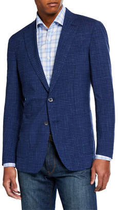 Peter Millar Men's Jozi Plaid Soft Sport Jacket