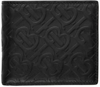 Burberry Black Monogram Card Holder