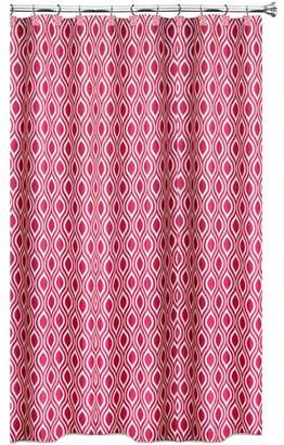 Popular Bath Nicole Fuchsia Shower Curtain