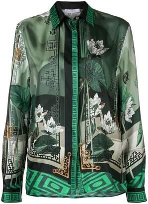 Versace multi-pattern shirt