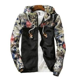 MODEOK Men's Bomber Jacket Casual Slim Fit Outerwear Coat(/