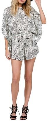 Women's Volcom Fox Tail Palm Romper $55 thestylecure.com