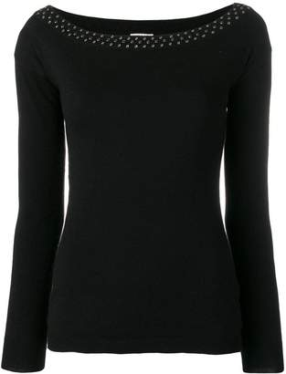 Liu Jo long sleeved stretch top