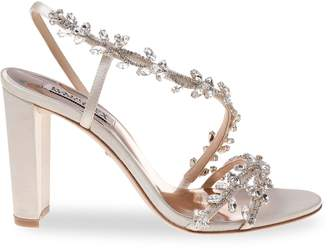 Badgley Mischka Felda Satin Sandals