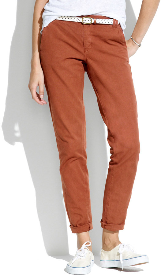 Madewell Canvas Rivington Trousers