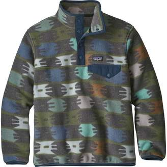 Patagonia Lightweight Synchilla Snap-T Fleece Pullover - Boys'