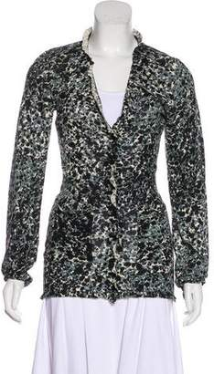Burberry Printed Lightweight Cardigan