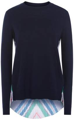 Ted Baker Jaymes Pleated Sweater