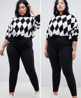 cfd1c054850 Junarose Black Plus Size Pants - ShopStyle