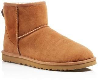 UGG Men's Suede Classic Mini Boots