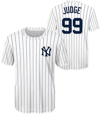 New York Yankees Outerstuff Aaron Judge Coop Poly Player T-Shirt, Big Boys (8-20)