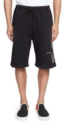 Marcelo Burlon County of Milan Cotton Mouse Shorts