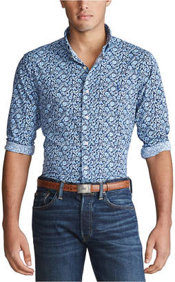 Polo Ralph Lauren Men Printed Performance Twill Sport Shirt