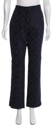 Givenchy Jacquard High-Rise Pants