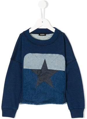 Diesel colourblock sweatshirt