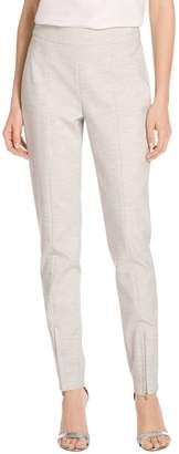 St. John Summer Bella Double Weave Skinny Leg Pants
