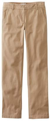 L.L. Bean L.L.Bean Signature Washed Twill Pants, Slim Straight-Leg