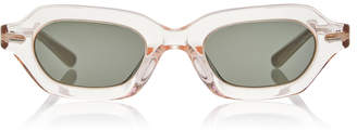 Oliver Peoples THE ROW LA CC Square Acetate Sunglasses