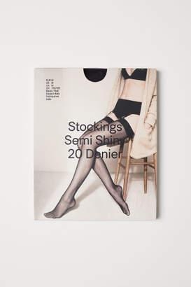 H&M Nylon Stockings 20 denier - Black