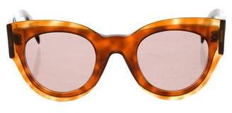 Celine Petra Round Sunglasses