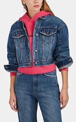 Ksubi Women's Jett Denim Trucker Jacket - Blue