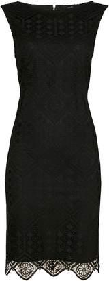 Wallis Black Lace Shift Dress