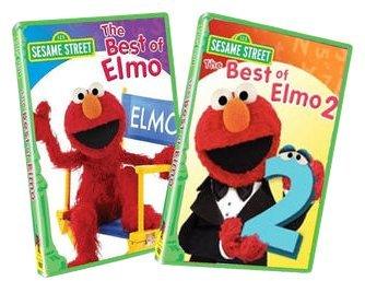 Sesame Street Best of Elmo: Volumes 1 & 2