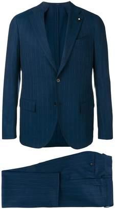 Lardini striped two-piece suit