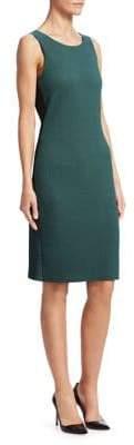 Emporio Armani Textured Jersey Tank Dress