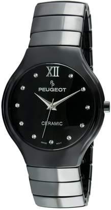 Peugeot Swiss Women's Ceramic Watch PS4898BK