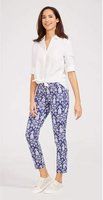 J.Mclaughlin Newport Capri Pants in Pineapple Palms