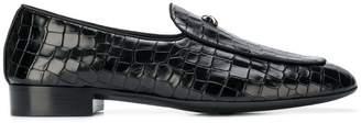 Giuseppe Zanotti Design croc-effect loafers