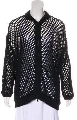 Brunello Cucinelli Open Knit Sweater