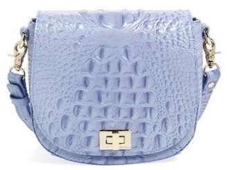 Brahmin Mini Sonny Leather Crossbody Bag - Orange $225 thestylecure.com
