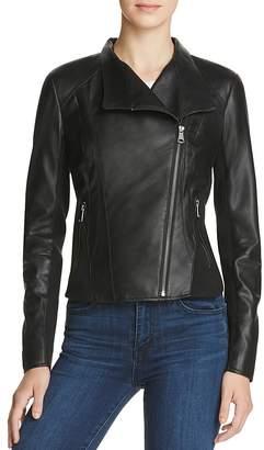 Marc New York Felix Leather Jacket $375 thestylecure.com