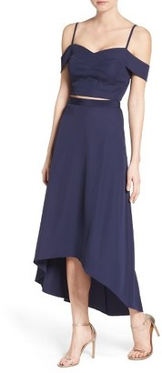 Women's Laundry By Shell Segal Two-Piece Gown $345 thestylecure.com