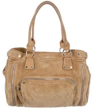 Longchamp Suede Shoulder Bag
