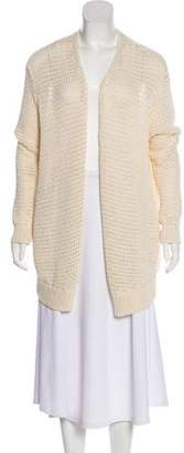 Halston Long Knit Cardigan