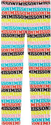 Missoni Logo Leggings