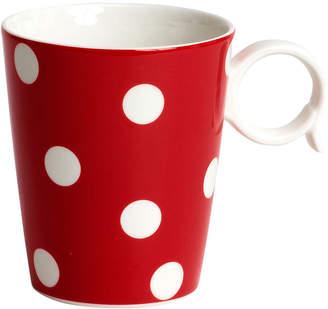 Asstd National Brand Red Vanilla Freshness Dots Coffee Mug