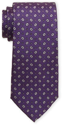 Piattelli Bruno Circular Silk Tie