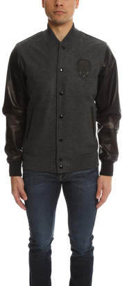 Lucien Pellat-Finet Lucien Pellat Finet Cashmere Leather Jacket