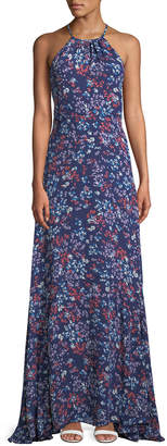 Parker Grady Floral Sleeveless Maxi Dress